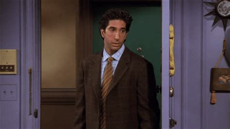 Middle Finger Meme Gif - angry david schwimmer gif find share on giphy