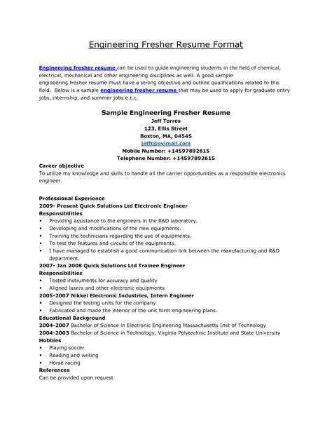 download bmw mechanical engineer sample resume
