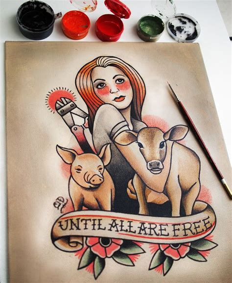 animal rights tattoos the 25 best animal rights ideas on