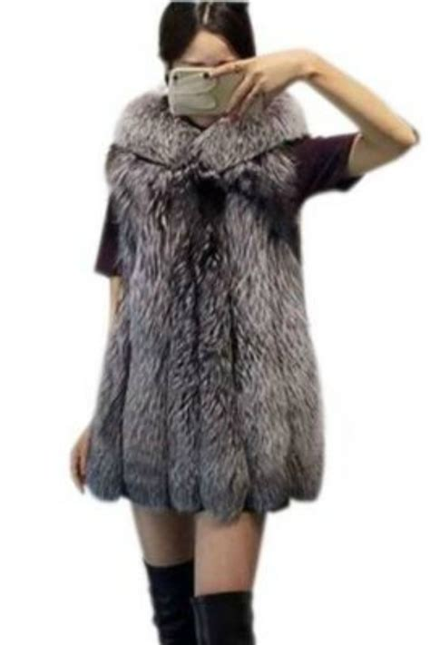 Karpet Bulu Korea Gray 100x150cm jaket bulu 5 color faux fur hooded g009d17 coat korea