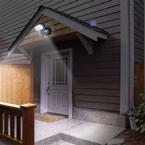 Solar Garage Lights Outdoor by Outdoor Garage Lighting For Security Home Design Ideas
