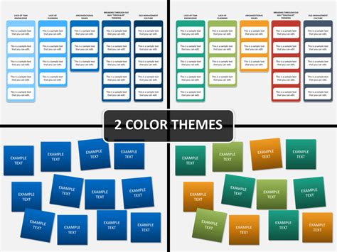 Affinity Diagram Powerpoint Template Sketchbubble Affinity Diagram Template