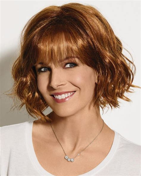 chin length beach hair sassy chin length bob wig with lightly tousled layers of