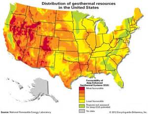 geothermal map of america geothermal energy physics britannica