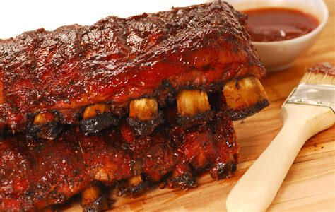 southern grilled barbecued ribs recipe dishmaps