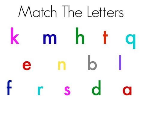 5 Letter Words Using The Letters Below 5 ways to use magnetic letters free printables no time