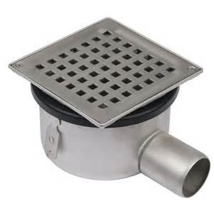 Safety Kitchen Knives shower drain adjustable gully stainless steel 145 x 145mm