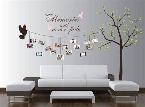 wall sticker ideas beautiful family tree wall decal ideas home designing