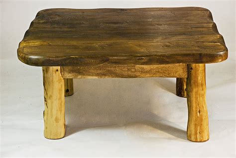 Handmade Wood Coffee Table - handmade small wooden coffee table by kwetu
