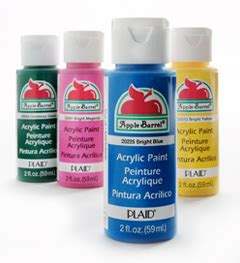 acrylic paint mac acrylic craft paint apple barrel by plaid 2oz bottles all