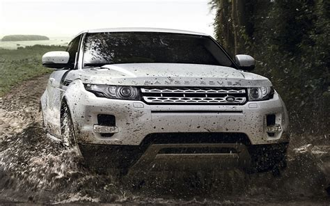 land rover off road wallpaper 1920x1200 white range rover evoque off road desktop pc and