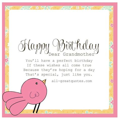 how to make a birthday card for grandmother happy birthday dear grandmother free birthday card