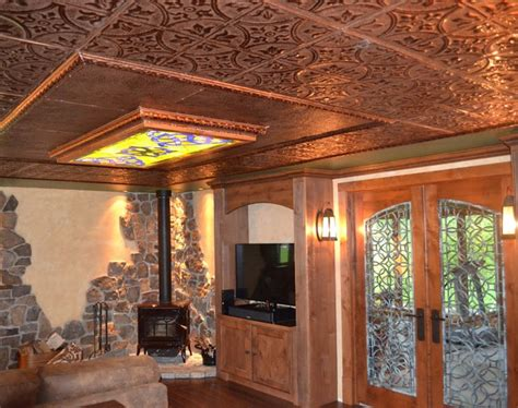 Game Rooms Bars Man Caves With Tin Ceilings American Tin Ceiling