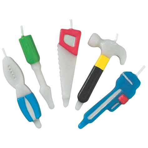 home improvement tools 5 candle set