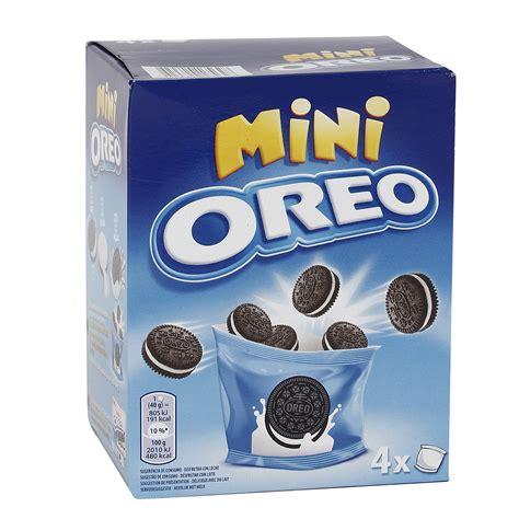 Chizkek Lumer Mini Choco Oreo oreo mini galletas de chocolate rellenas de crema caja 160 gr rellenas supermercados dia