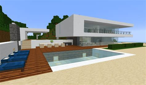 how to build a beach house in minecraft minecraft modern simple beach ocean weekend house estate