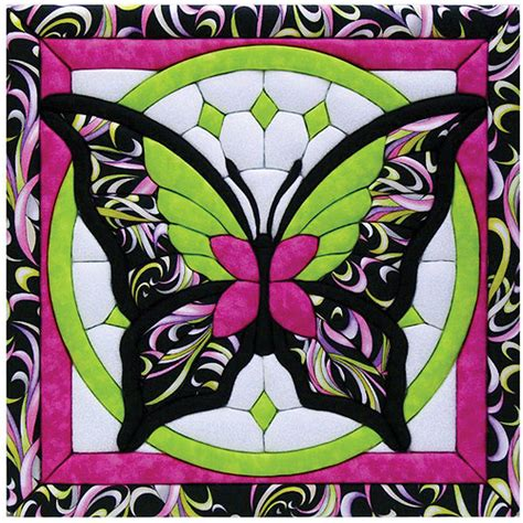 butterfly ii quilt magic kit walmart