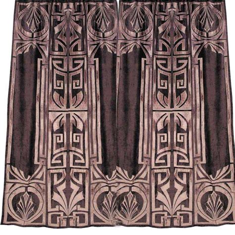 art deco drapes faupel readymade curtains