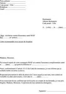 Exemple De Lettre Resiliation Mutuelle Sante Modele Lettre Resiliation Assurance Sante Document