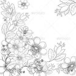 Outline Sketches Of Flowers by Flower Outline Drawings Flower Drawing Outline 187 Tinkytyler Stock Photos