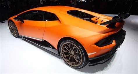 Lamborghini Show Lamborghini Shows Huracan Performante Telemetry Data To