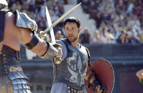 gladiator film fight gladiator a man s movie answers from men