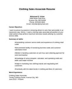 sales associate resume template 8 free word pdf