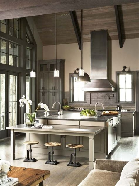 contemporary country kitchen redirecting