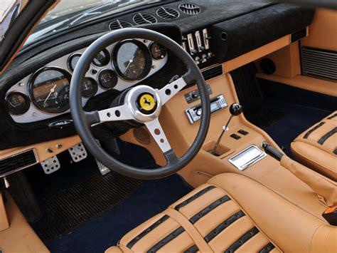 1971 73 365 gtb4 daytona supercar interior g
