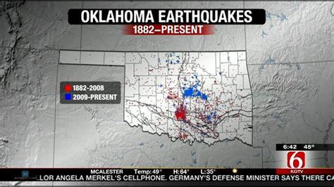earthquake oklahoma reactivated fault lines could cause major quake in
