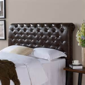better homes and gardens headboard better homes and gardens rolled tufted upholstered