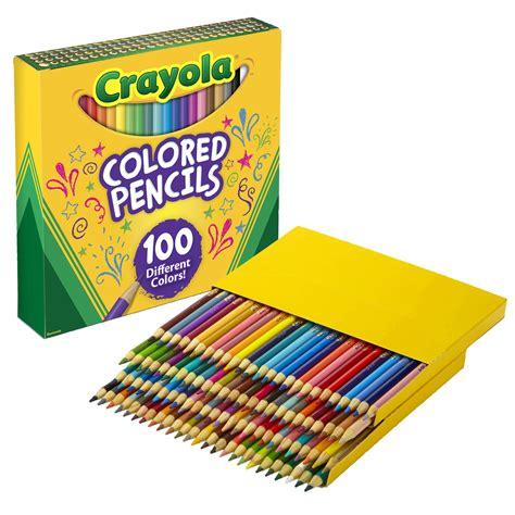 crayola colored pencils 100 crayola 100 count colored pencils back to school material