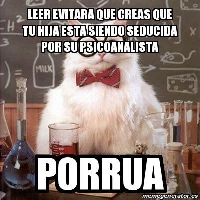 Chemistry Cat Meme Generator - meme chemistry cat leer evitara que creas que tu hija