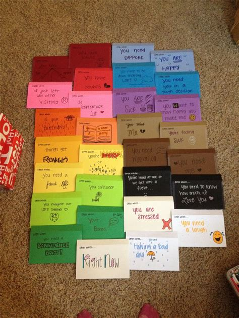 up letter ideas open when letters for my distance boyfriend for