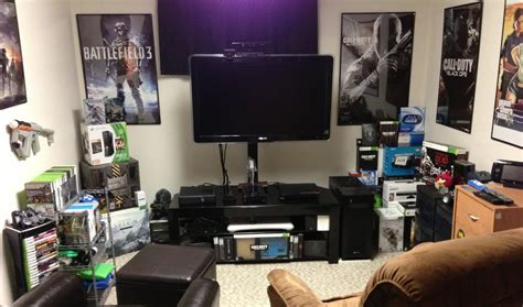 bedroom gaming room setup ideas home decor ideas