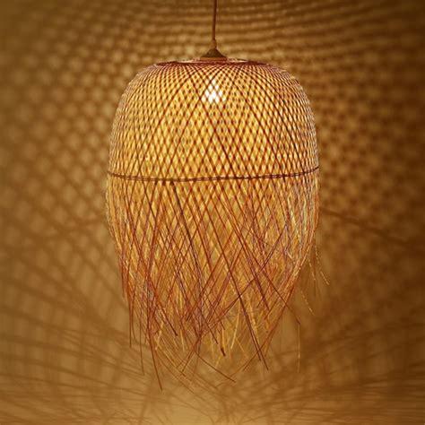 Luminaire Exotique Bambou by Luminaire En Bambou Tr 232 S Po 233 Tique Pour Une D 233 Co Nature Et