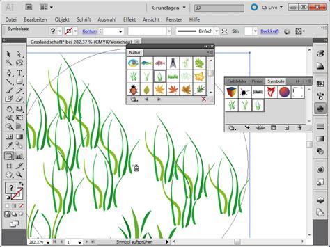 illustrator tutorial zeichenstift gras und sterne erstellen in adobe illustrator