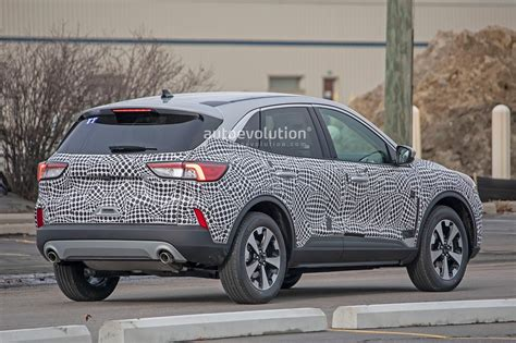 Ford Production 2020 2020 ford escape kuga spied with production is a