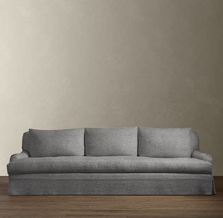 Belgian Classic Roll Arm Sofa by Belgian Classic Roll Arm Slipcovered Sofas Sofas