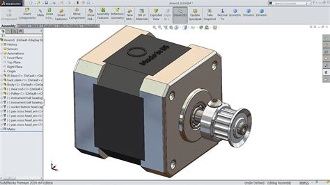 tutorial solidworks motor solidworks tutorial sketch stepper motor in solidworks