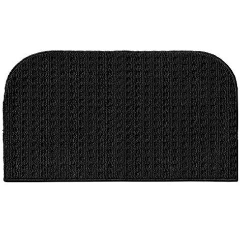 black kitchen rug garland rug herald square kitchen slice rug 18 inch by 30 inch black coconuas191