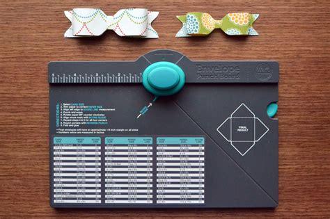 We R Punch Board envelope punch board we r memory keepers