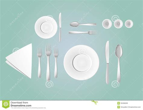 table layout vector table layout stock vector image of party lunch