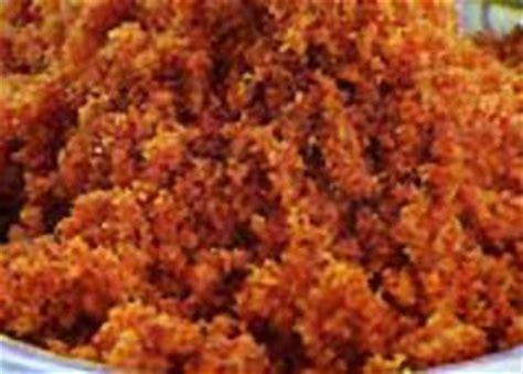membuat abon ikan tuna resep makanan indonesia