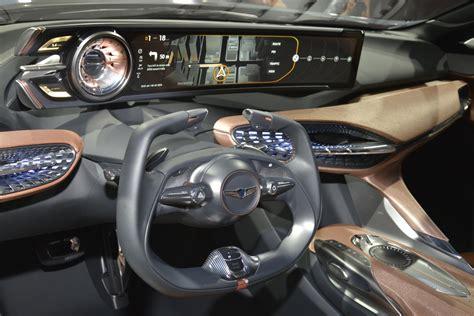 genesis auto upholstery 2018 genesis g70 sedan previewed by genesis new york