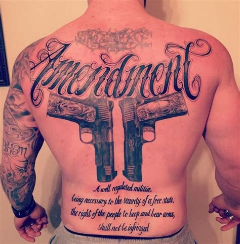 brantley gilbert 2nd amendment tattoo