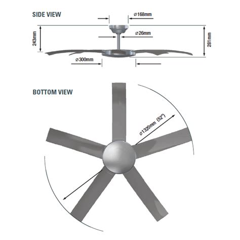 ceiling fan width for room size attitude ceiling fan with remote white 52 quot