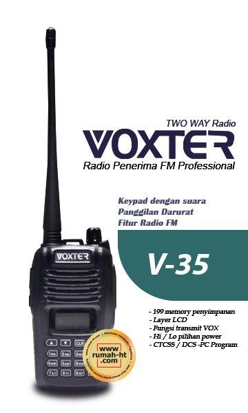 Jual Termurah Handy Talky Ht Weierwei Uv V9 3 Band Radio Komunik voxter 187 187 jual alat radio komunikasi ht handy talky