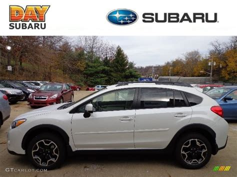 white subaru crosstrek 2013 satin white pearl subaru crosstrek 2 0 limited