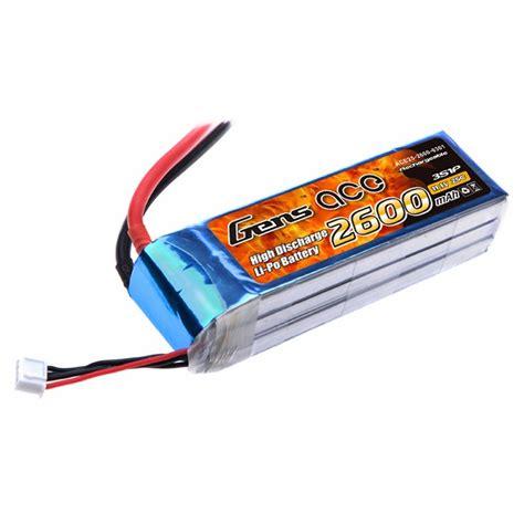 best 3s lipo battery gens ace 2600mah 3s 11 1v 25c lipo battery pack gens ace